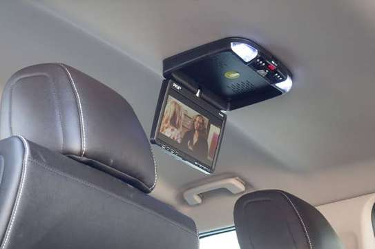 14 Inch Roof Mount Monitor with Video Input, Reverse Camera Output