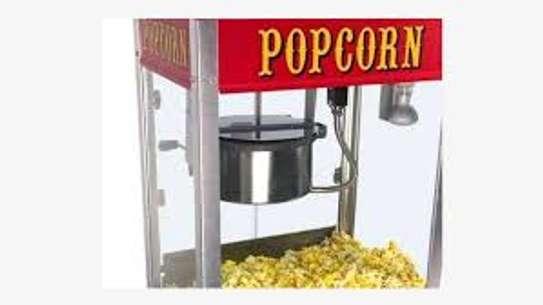Popcorn Maker Machine with Stainless Steel Popcorn Scoop image 2
