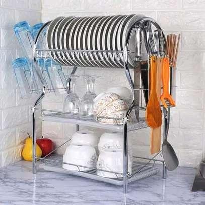 3layer dish rack/3layer dish drainer image 1