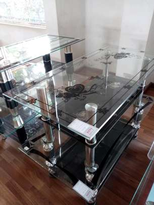 Simple small coffee table image 1