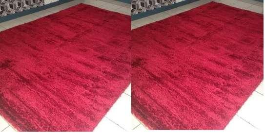 Red turkish soft carpet image 1