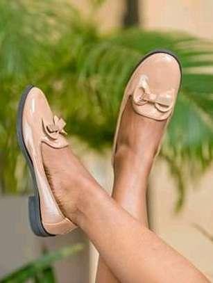 brogue shoes/flat image 1