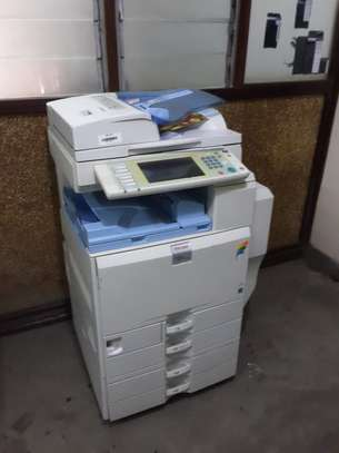 RICOH MPC4501 HIGH SPEED A3 SIZE FULL COLOR PHOTOCOPIER/PRINTER/SCANNER