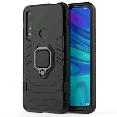 Huawei Y9 Prime 2019 Case PC+TPU Phone Back Cover With Ring Stand