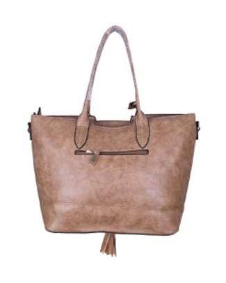Brown Leather Hand Bag image 2