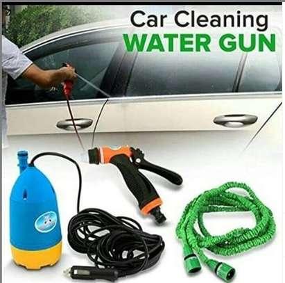 Portable car washing machine set image 1