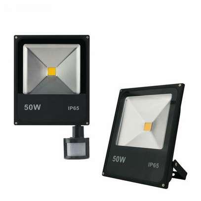 50W LED PIR motion sensor flood light image 1