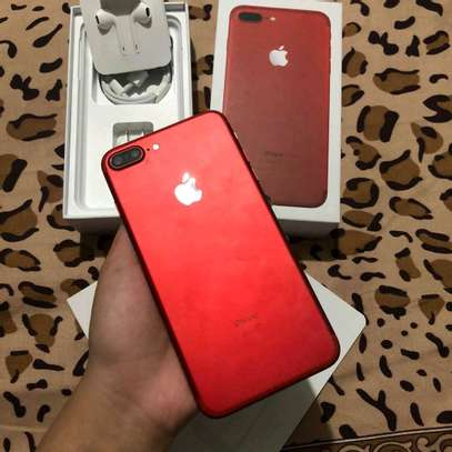 Apple Iphone 7 Plus 256 Gigabytes Red With Charger Case for long picnics image 1