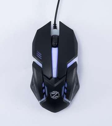 black gaming mouse image 2