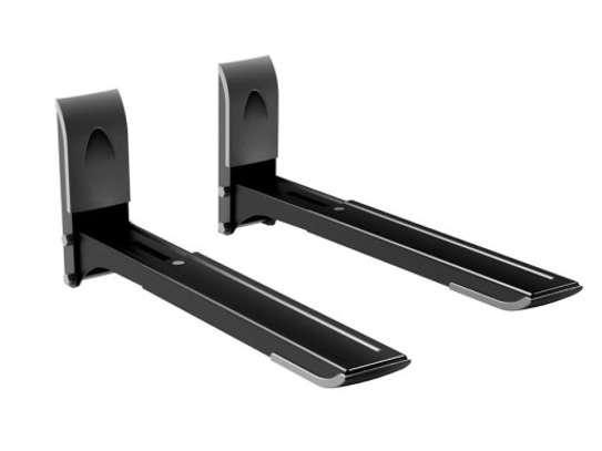 Wall Mounts With Adjustable Arms For Center Speakers