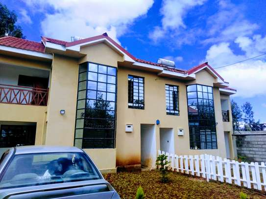 Four bedrooms townhouse with a DSQ for rent in Kibiko image 2