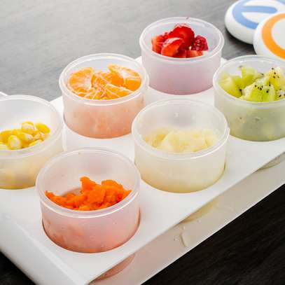 4 Baby Food Containers
