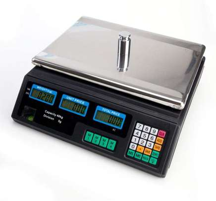 Good quality new ABS ACS-30 weighing scaling scale digital price computing scale image 1