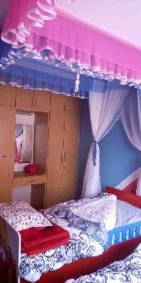 Brand new custom made Rail shears mosquito nets sliding like curtains fixed on the ceiling image 12