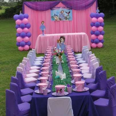Kids parties planners decor and set up.