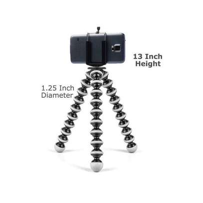 Octopus Tripod Flexible Bendable Tripod, Camera Tripod Octopus Camera Holder and Phone Tripod for Travel, Camping and Outdoor image 6