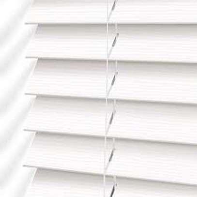 office blinds white