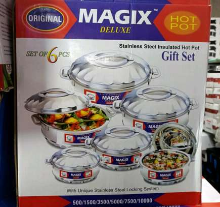 Magix insurated hot pots image 1