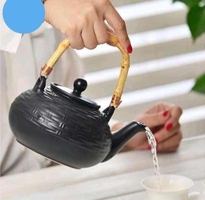 ceramic tea kettle image 2