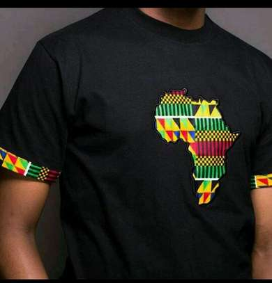 Africa designed hoods and T-shirts.