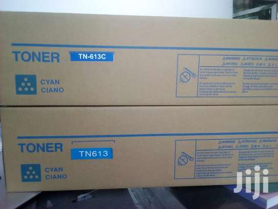TN 613 Konika Minolta Biz Hub Toner Cartridge image 1
