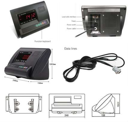 Approved A12 Indicator Digital Weighing Scales for LPG Gas Vendors image 6
