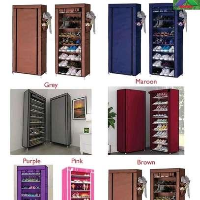 One column shoe rack image 1