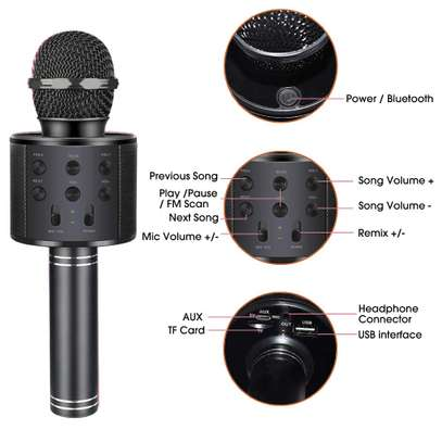 Karaoke Microphone with Bluetooth image 3