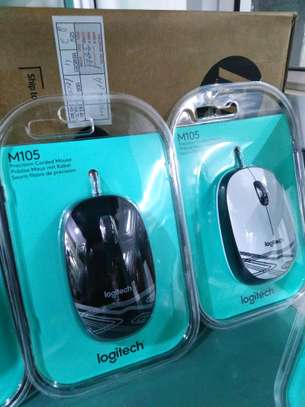 M 105 Logitech wired mouse image 1