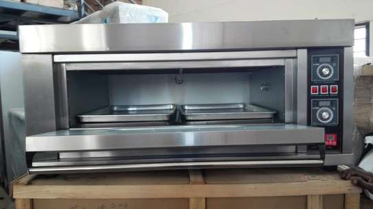 Single deck double tray electric Oven image 3