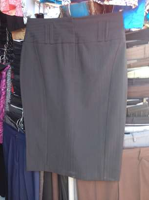 Pencil Skirt with Belt Straps image 1