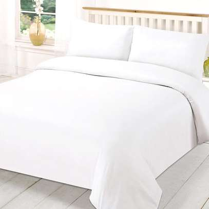 4PC WHITE COTTON DUVET COVER-6*6
