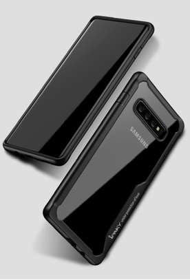 IPAKY Hybrid Shockproof Transparent Case for Samsung S10 S10e S10 Plus image 2