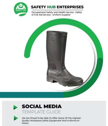 Work master gumboots for sale image 1