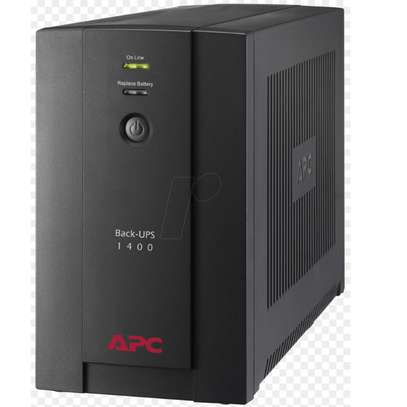 APC Back-UPS 1400VA, 230V, AVR, Universal and IEC Sockets image 1