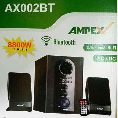 Ampex AX002 2.1CH Bluetooth Subwoofer-AC/DC,USB,SD,FM, image 2