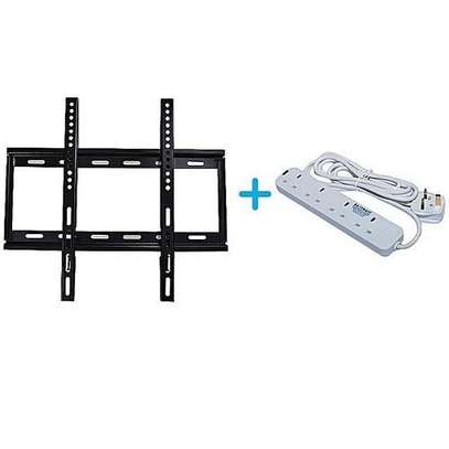 "TV Wall Bracket 26""-55''+Free Power Cable image 1"