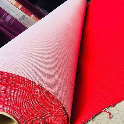 interior VIP red carpet wall to wall   10mm thick image 6