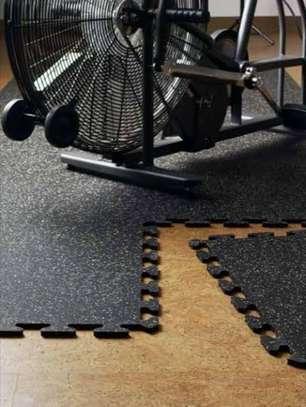 Interlocking Rubber Flooring Gym mats image 1