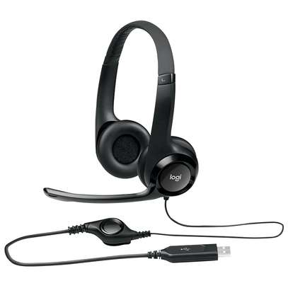 Logitech H390 USB Computer Headset With Enhanced Digital Audio And In-Line Controls image 4