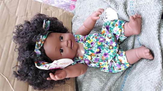 Africa kids doll/baby doll/baby/artificial baby image 5