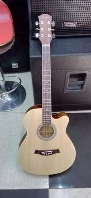 "Fender acoustic guitar 40"" image 1"