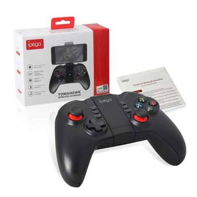 iPega pg-9068 Tomahawk Wireless BT Gamepad for Win XP Win7 8 TV Box Game Controller i-Phone i-Pad iOS System Samsung Galaxy Note HTC LG Android Tablet Pc Mac Osx image 3