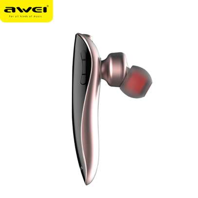 AWEI N1 Bluetooth Headphones Wireless Earphone Cordless Headset, Mic image 6
