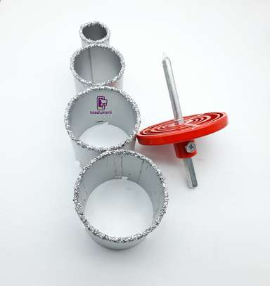 Diamond Hole Saw Cutter Drill Core Bit for Marble, Granite, Glass, and Tile image 3