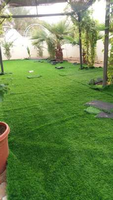 Artificial Grass Factory Price Artificial Lawn image 4