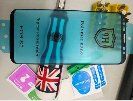 Ceramic Full 5D Glass Protector Flexible Anti-Break,Anti-Fingerprint for Samsung S9 S9 Plus image 2
