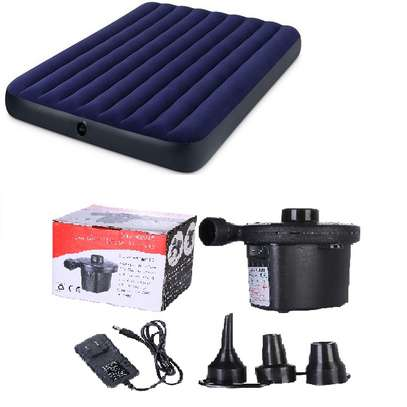 Intex Inflatable AirBed Mattress With A Free Pump image 1