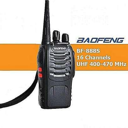 Baofeng Bf-888s UHF 2-Way Radio Handheld Walkie Talkie Black -1 Piece image 1
