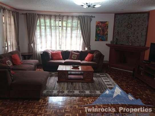 Furnished 3 bedroom house for rent in Karen image 7
